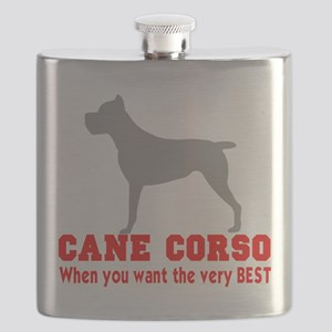CANE CORSO VERY BEST Flask