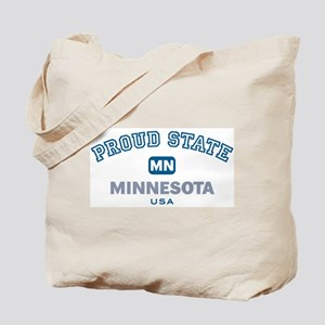 Proud State-Minnesota: Tote Bag