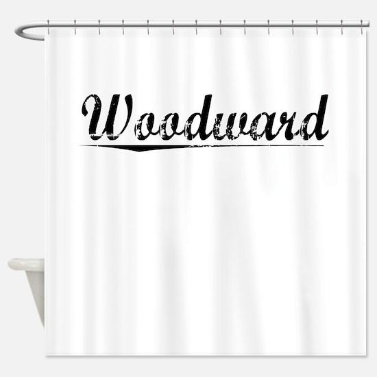 Woodward, Vintage Shower Curtain
