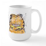 PARDON MY MORNING FACE Large Mug