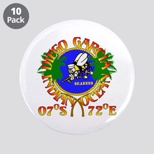 "SEABEES of Diego Garcia 3.5"" Button (10 pack)"
