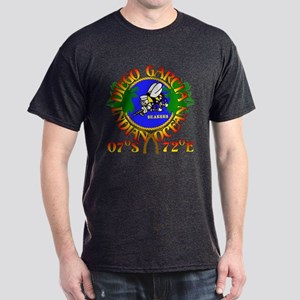 SEABEES of Diego Garcia Dark T-Shirt
