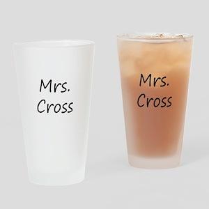 Mrs Cross Drinking Glass