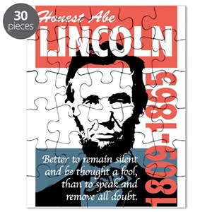Abraham lincoln puzzles cafepress fandeluxe Image collections