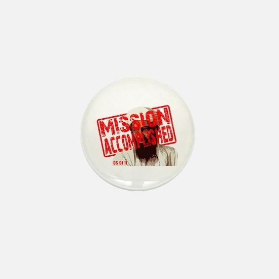 Mission Accomplished Obama 2012 Mini Button