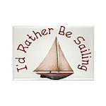 I'd Rather Be Sailing Magnets (10 pack)