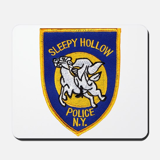 Sleepy Hollow Police Mousepad