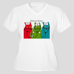 Retired Nurse Blanket CATS Women's Plus Size V