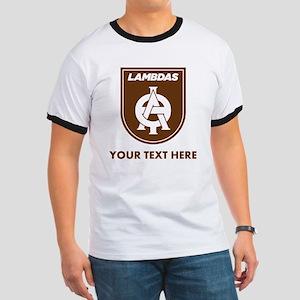 Lambda Theta Phi Logo Personalized Ringer T