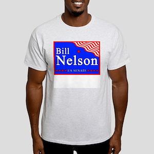 Florida Bill Nelson US Senate Ash Grey T-Shirt