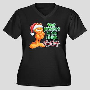 Trust Me Women's Plus Size V-Neck Dark T-Shirt