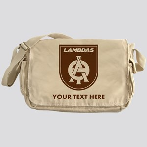Lambda Theta Phi Logo Personalized Messenger Bag