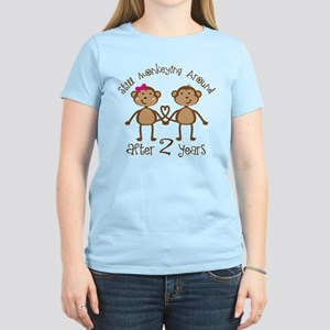 2nd Anniversary Love Monkeys Women's Light T-Shirt