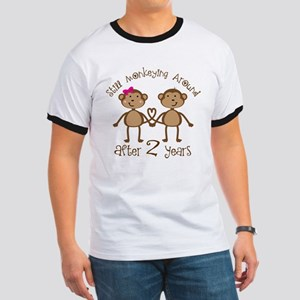 2nd Anniversary Love Monkeys Ringer T