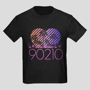 Retro 90210 Kids Dark T-Shirt