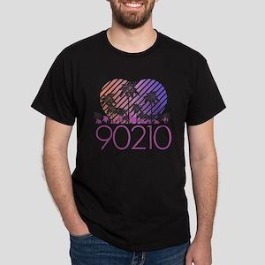 Retro 90210 Dark T-Shirt