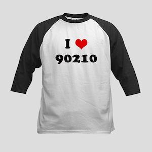 I Heart 90210 Kids Baseball Jersey