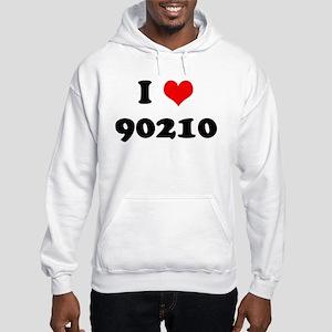 I Heart 90210 Hooded Sweatshirt