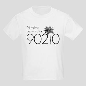 Id rather be watching 90210 Kids Light T-Shirt