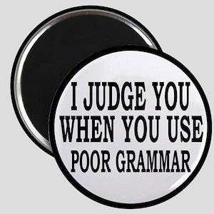 Poor Grammar Magnet