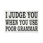 Poor Grammar Rectangle Magnet (10 pack)