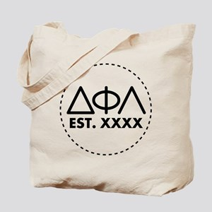 Delta Phi Lambda Circle Tote Bag