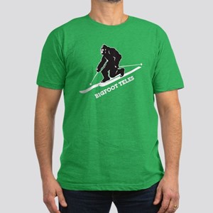 Bigfoot Teles Men's Fitted T-Shirt (dark)