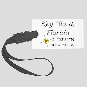 2-keys Large Luggage Tag