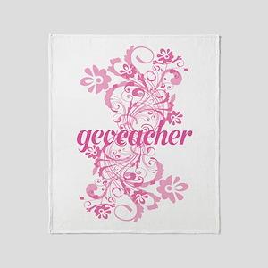 Geocacher Gift Throw Blanket