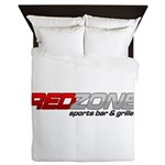 Red Zone Sports Bar and Grille Queen Duvet