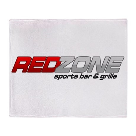 Red Zone Sports Bar and Grille Throw Blanket