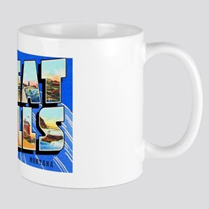 Great Falls Montana Greetings Mug