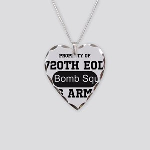 720th EOD Necklace Heart Charm