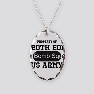 720th EOD Necklace Oval Charm