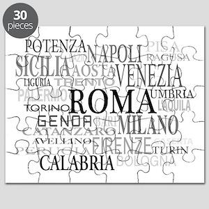 Italian Cities Puzzle