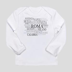 Italian Cities Long Sleeve Infant T-Shirt