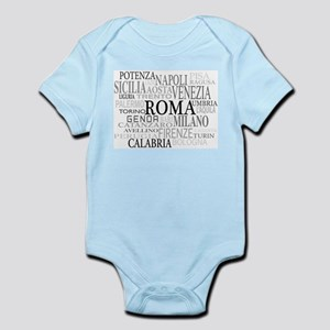 Italian Cities Infant Bodysuit