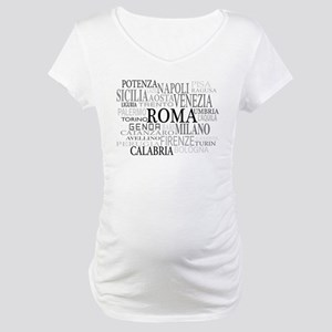 Italian Cities Maternity T-Shirt