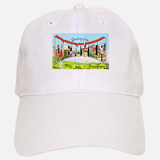 Denver Colorado Greetings Baseball Baseball Cap