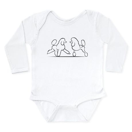 poodles of distinction Long Sleeve Infant Bodysuit