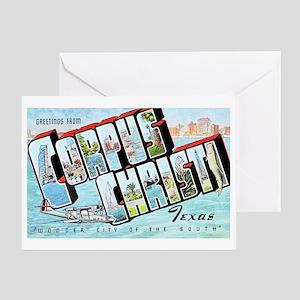Corpus Christi Texas Greetings Greeting Card