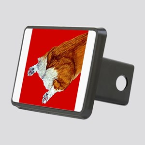 redcerealcrop Rectangular Hitch Cover