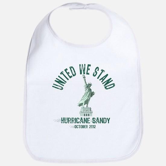 Hurricane Sandy Statue Bib
