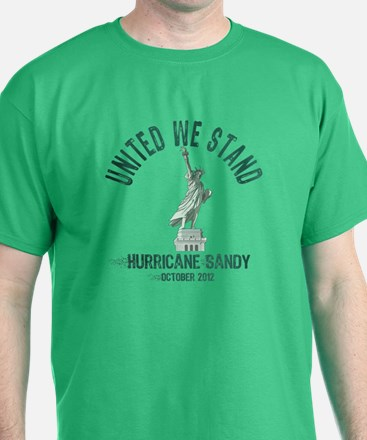 Hurricane Sandy Statue T-Shirt