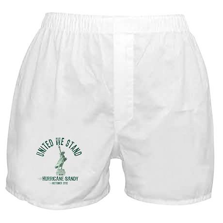 Hurricane Sandy Statue Boxer Shorts