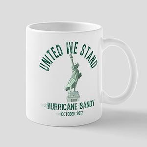 Hurricane Sandy Statue Mug