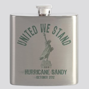 Hurricane Sandy Statue Flask