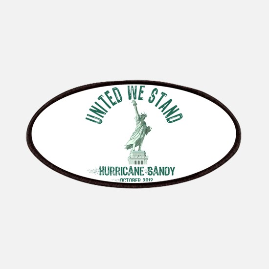 Hurricane Sandy Statue Patches