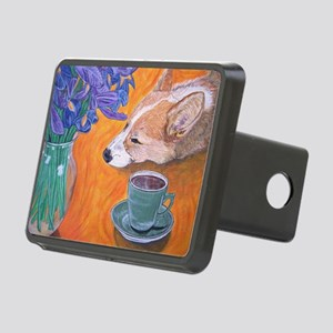 Coffee break Rectangular Hitch Cover
