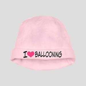 I Heart Ballooning baby hat